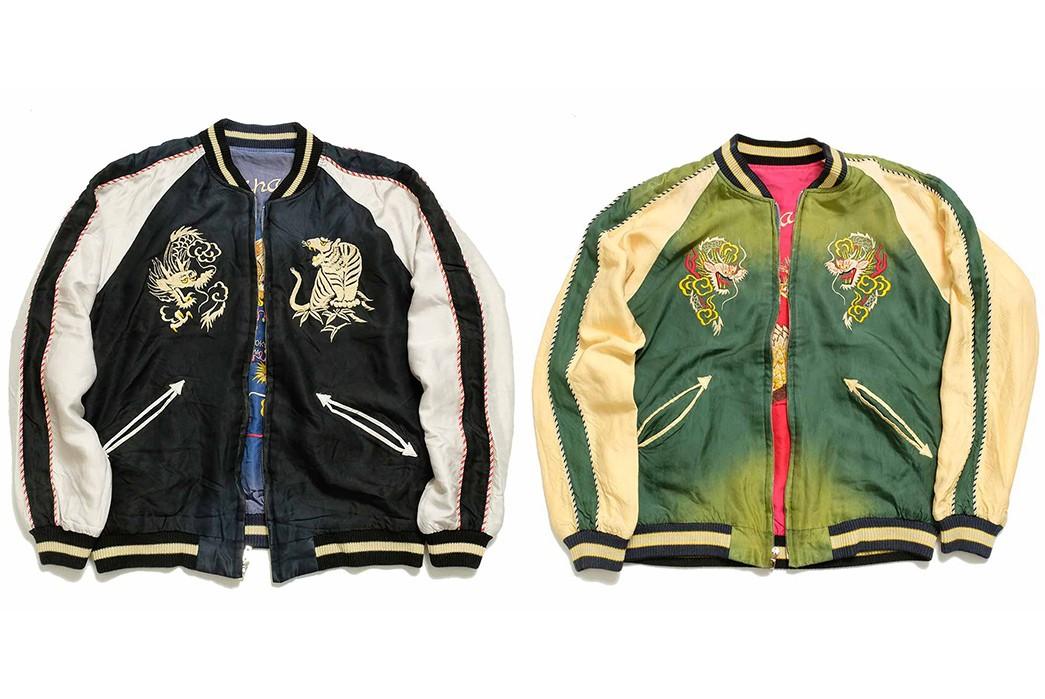 Tailor-Toyo-Recreates-Vintage-Sukajans-With-Its-'Aging-Model'-Souvenir-Jackets fronts