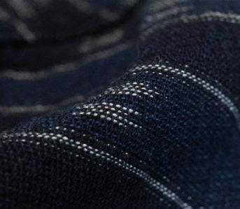 Textured,-Indigo-Work-Shirts---Five-Plus-One-2)-Momotaro-Work-Shirt-in-Indigo-Jacquard-social