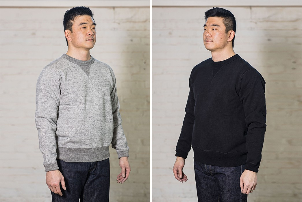 Whitesville's-Crew-Sweatshirts-Are-Loopwheeled-In-Japan-From-U.S.-Cotton-front-sides