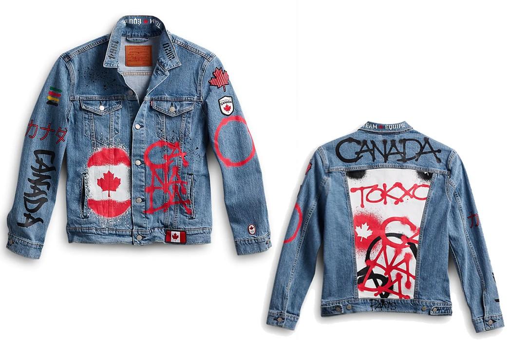 Canada's Shameful Olympic Denim Jacket