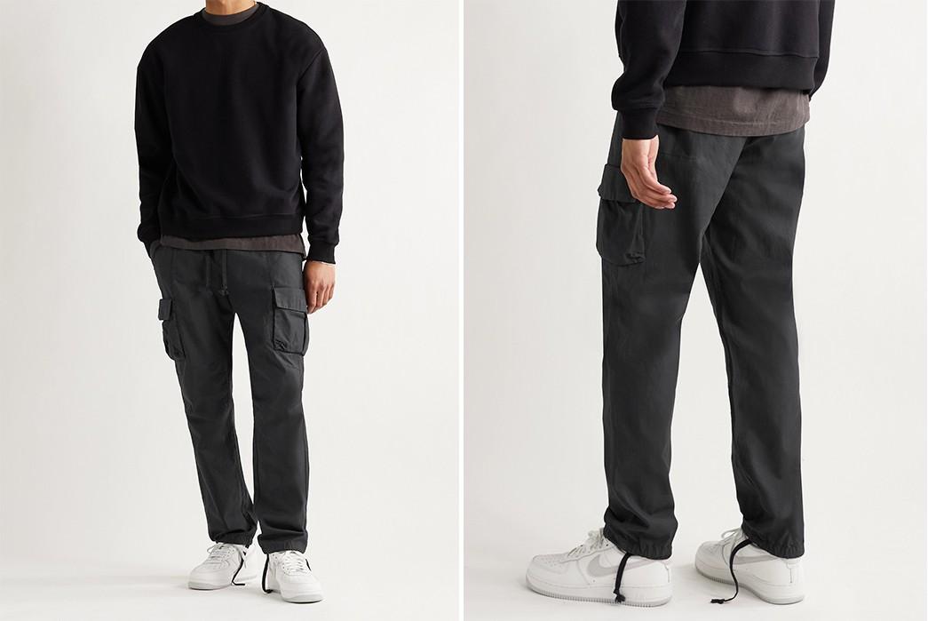 Cargo-Pants-Volume-III---Five-Plus-One-5)-John-Elliot-Slim-Fit-Cotton-Drawstring-Cargo-Trousers