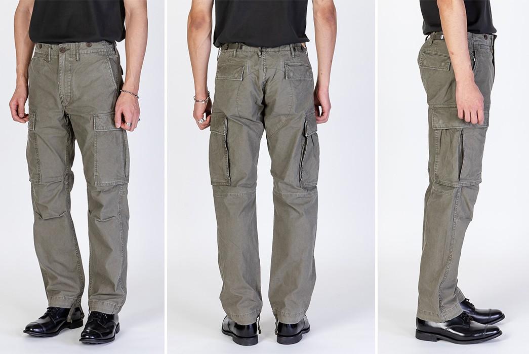 Cargo-Pants-Volume-III---Five-Plus-One 1) RRL: Surplus Cargo Pants
