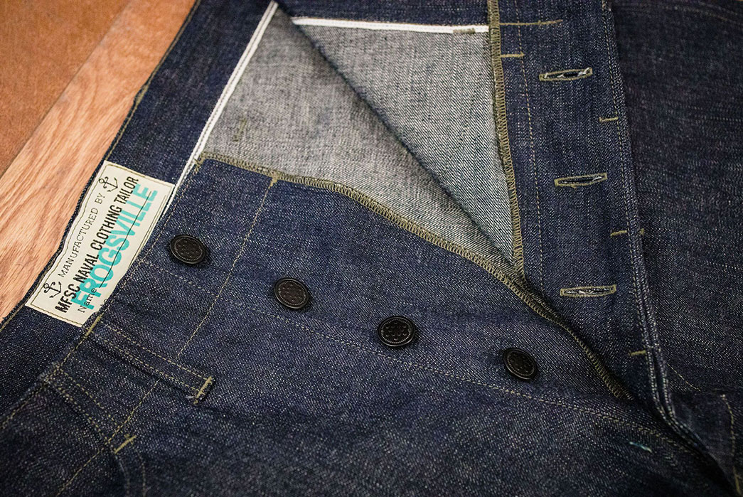 Ditch-Your-Five-Pockets-For-Mister-Freedom's-10-oz.-Denim-Raiders-Trousers-front-top-open-2