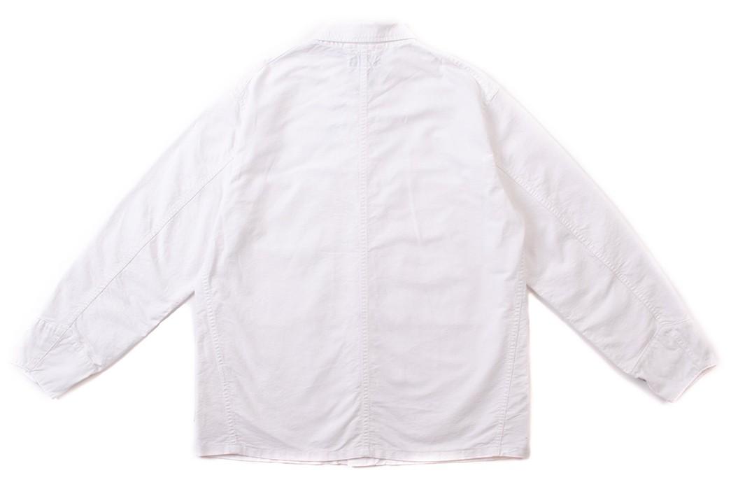 Don't-Do-Any-Gardening-In-This-White-Oxford-Sassafras-Transplant-Jacket-back