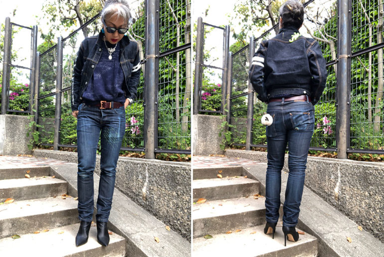 Fade-Friday---Nudie-Grim-Tim-Dry-Selvedge-(6-Months,-No-Washes)-model-front-back