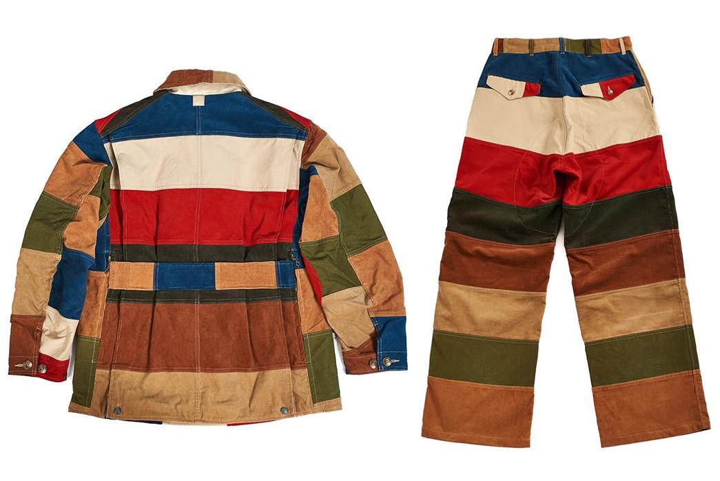Hitoshi-Tsujimoto's-Technicolor-Dreamcoat-(And-pants)-multicolor-jacket-and-pants-back