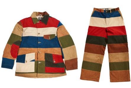 Hitoshi-Tsujimoto's-Technicolor-Dreamcoat-(And-pants)-multicolor-jacket-and-pants-front