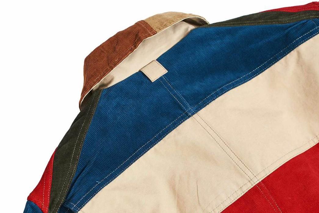 Hitoshi-Tsujimoto's-Technicolor-Dreamcoat-(And-pants)-multicolor-jacket-back-collar