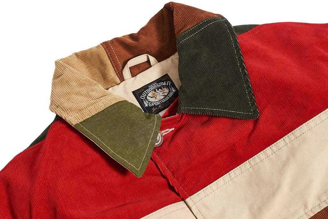 Hitoshi-Tsujimoto's-Technicolor-Dreamcoat-(And-pants)-multicolor-jacket-front-collar