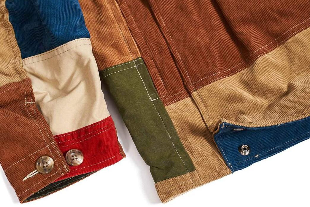 Hitoshi-Tsujimoto's-Technicolor-Dreamcoat-(And-pants)-multicolor-jacket-sleeve-front