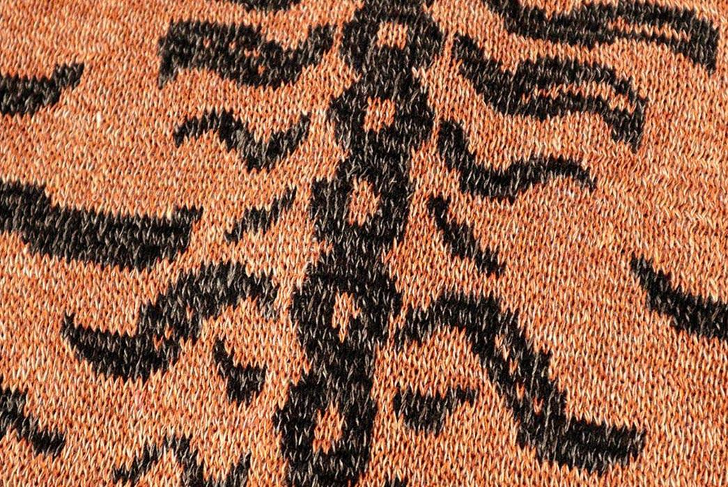 Kapital-Made-A-Cardigan-Based-On-Tibetan-Tiger-Rugs-detailed