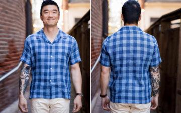 Knickerbocker's-Tall-Pocket-Camp-Shirt-Is-Here-For-Linen-Season-model-front-back