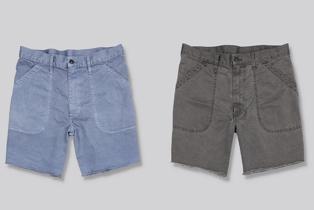Save-Khaki-Chops-Up-Herringbone-Shorts-For-Summer