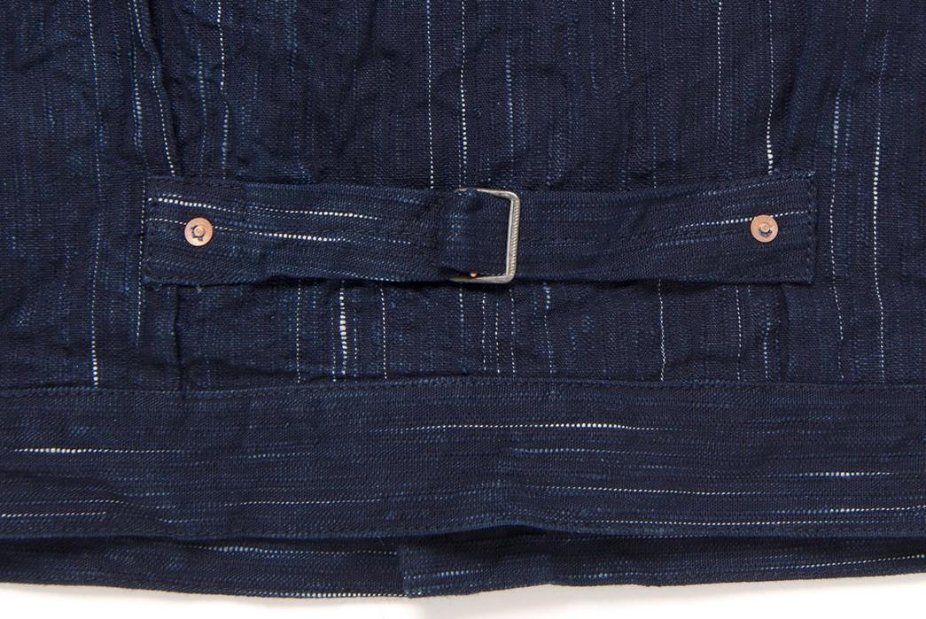 Studio-D'Artisan-Weaves-Slubs-Into-'Kasuri'-Denim-With-Its-Latest-Type-1-back-buckle