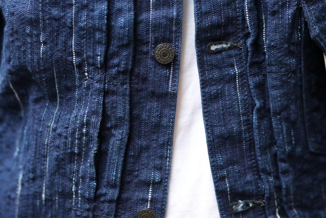 Studio-D'Artisan-Weaves-Slubs-Into-'Kasuri'-Denim-With-Its-Latest-Type-1-buttons