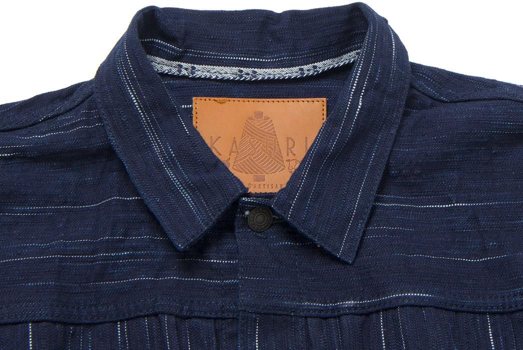 Studio-D'Artisan-Weaves-Slubs-Into-'Kasuri'-Denim-With-Its-Latest-Type-1-front-collar