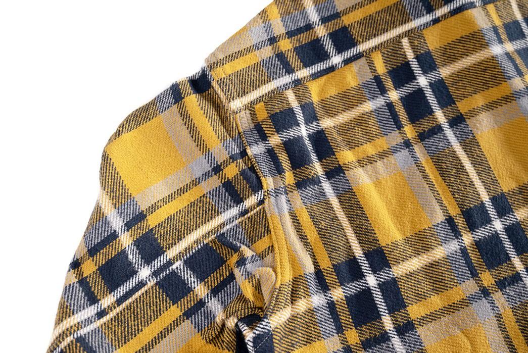 Suevas-Sews-Up-Its-First-Flannel-Shirt-left-shoulder-back