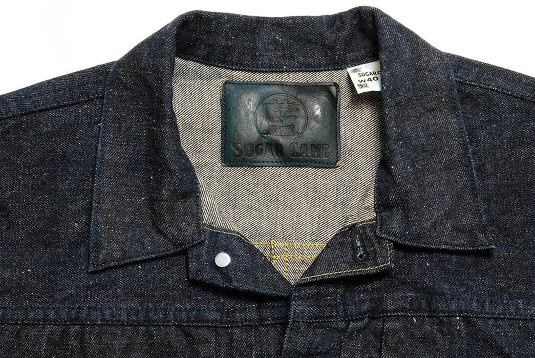 Sugar-Cane-Issues-A-Neppy-Type-1-Denim-Blouson-front-collar