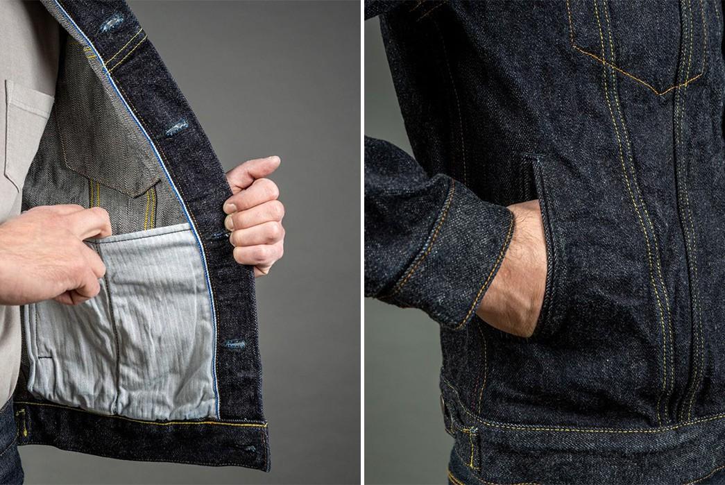 Tanuki's-Red-Cast-Denim-Is-Back-After-4-Year-Wait-jacket-inside-pocket-and-outside-pocket