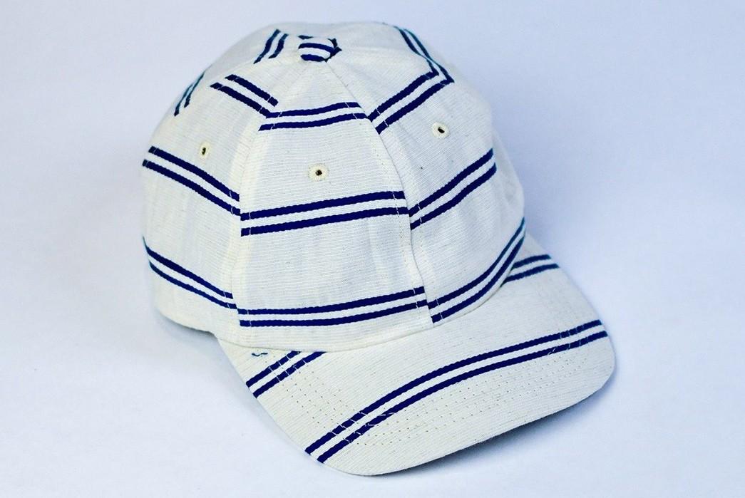 Upstate-Stock-Turns-Surplus-Mask-Fabrics-Into-Ball-Caps-white-blue-2