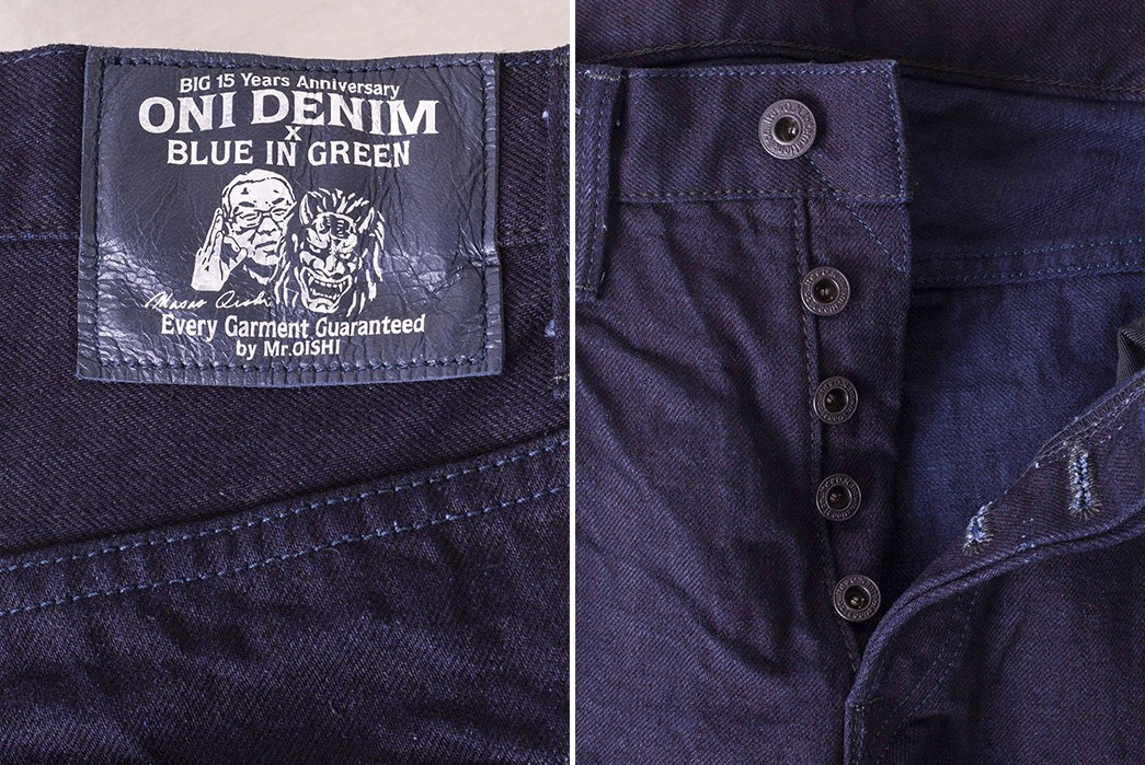 Blue-In-Green-Celebrates-15-Years-With-Double-Indigo-ONI-Exclusive-back-leather-patch-and-front-pockets