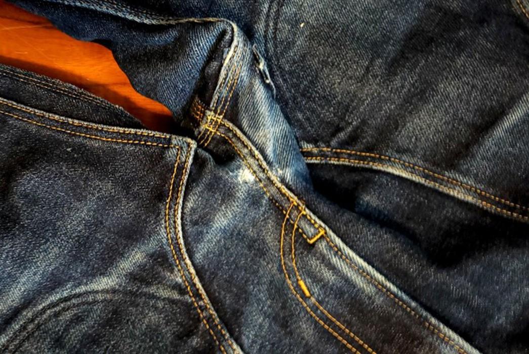 Fade-Friday---Iron-Heart-IH-805-Overalls-(1-Year,-1-Wash)-between-legs