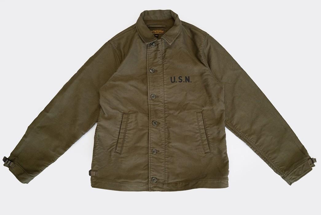 Freewheelers'-USN-Deck-Worker-Jacket-Is-Back-front