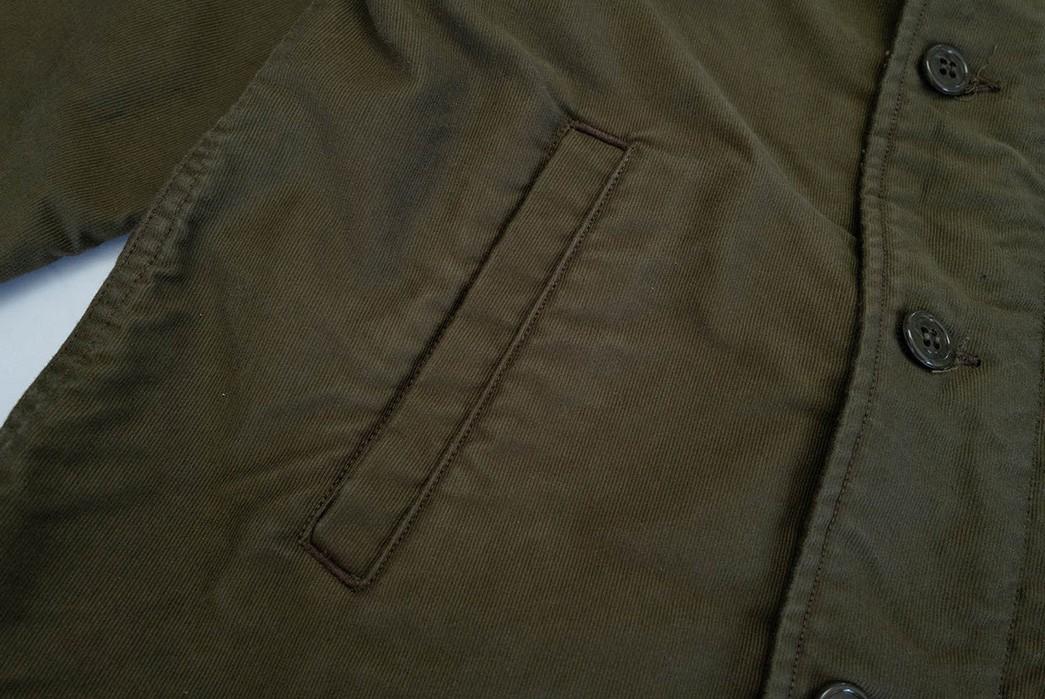 Freewheelers'-USN-Deck-Worker-Jacket-Is-Back-pocket