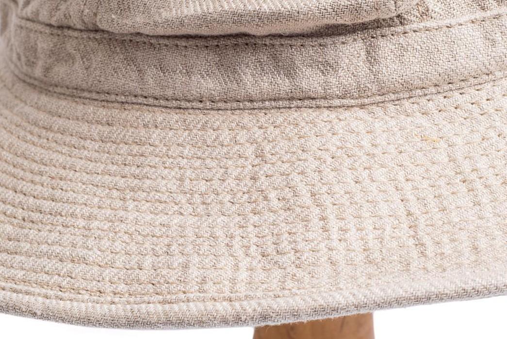 H.W.-Dog-Updates-Its-Fatigue-Hat-For-Linen-Season-beige-detailed