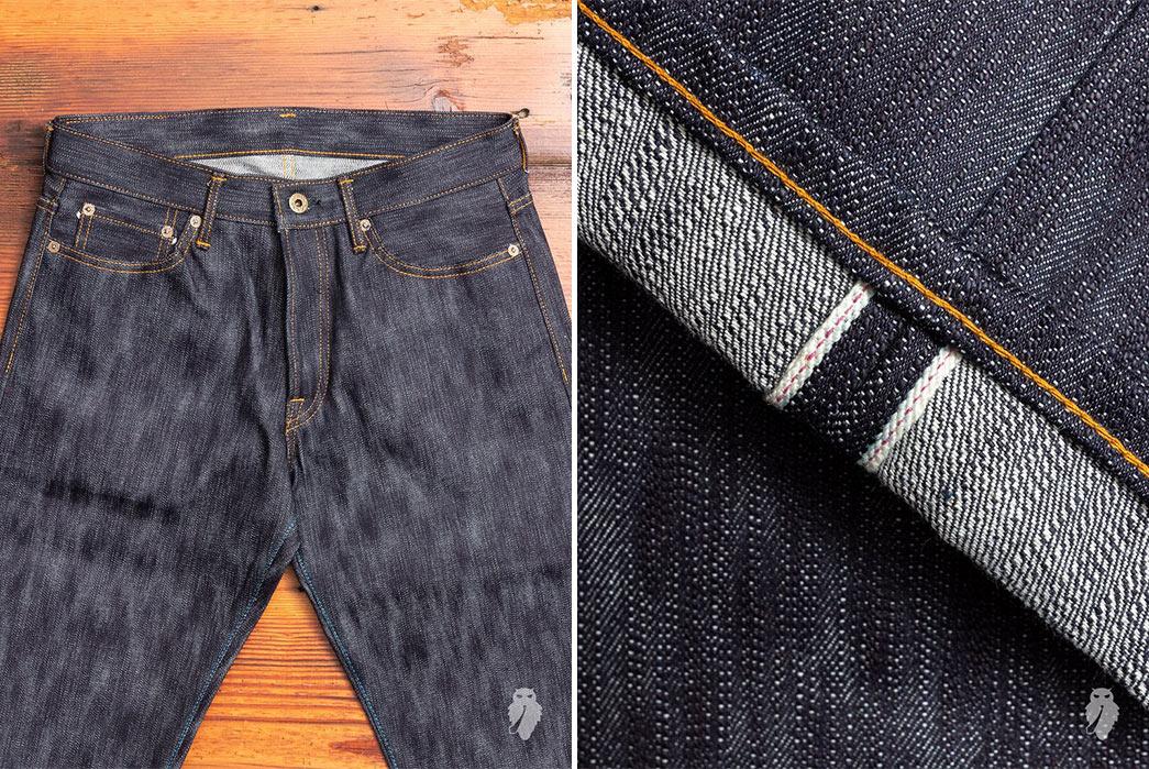 Highly-Textured-Jeans---Five-Plus-One 1) Japan Blue: JBO-#18 Slub Selvedge