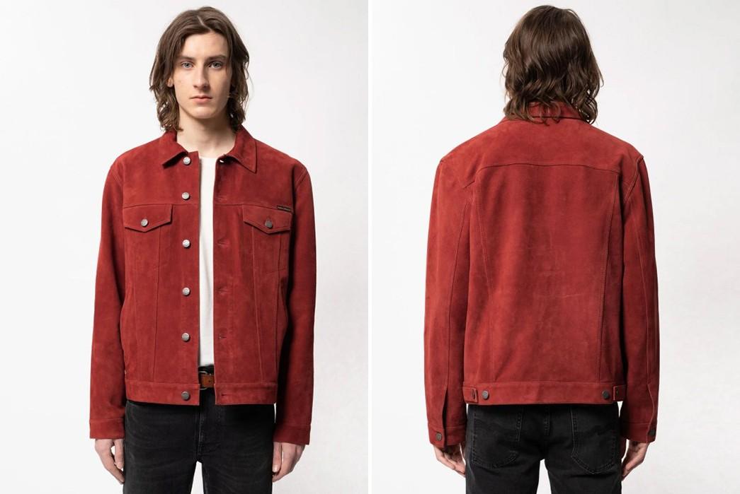 Suede-Trucker-Jackets---Five-Plus-One-4)-Nudie-Jeans-Robby-Suede-Jacket