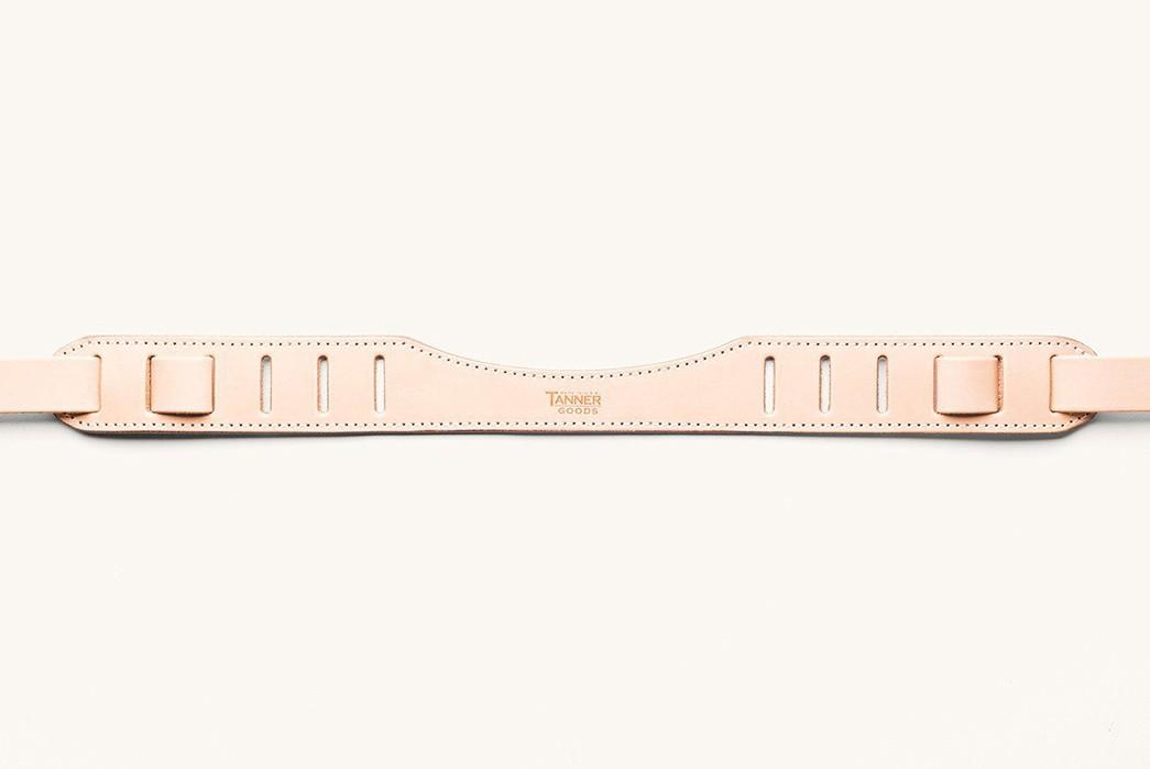 Take-Summer-Snaps-In-Style-With-Tanner-Goods'-Veg-Tan-SLR-Strap-belt