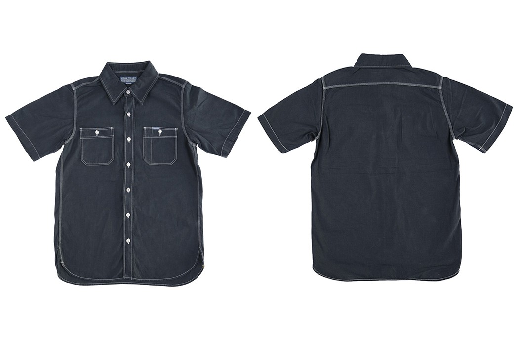 You-Won't-Overheat-In-Iron-Heart's-Overdyed-Chambray-front-back