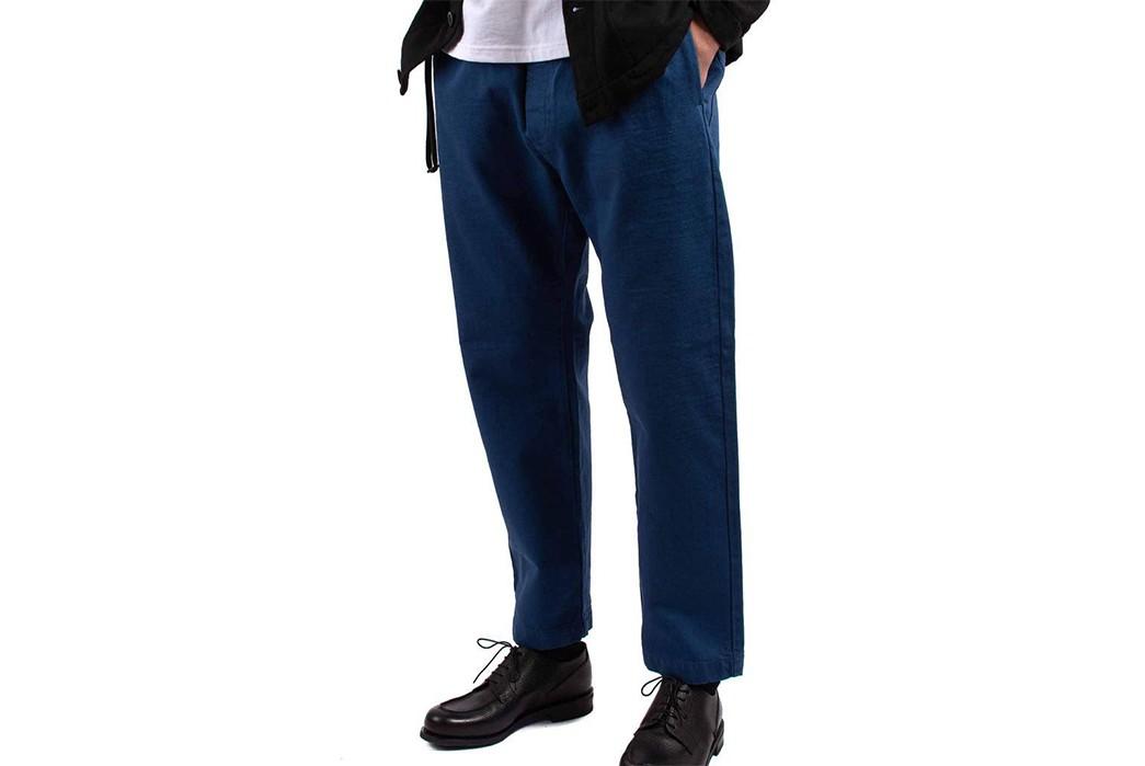 Barena-Venezia-Trousers-Bativoga-Tober-Edison-model-side