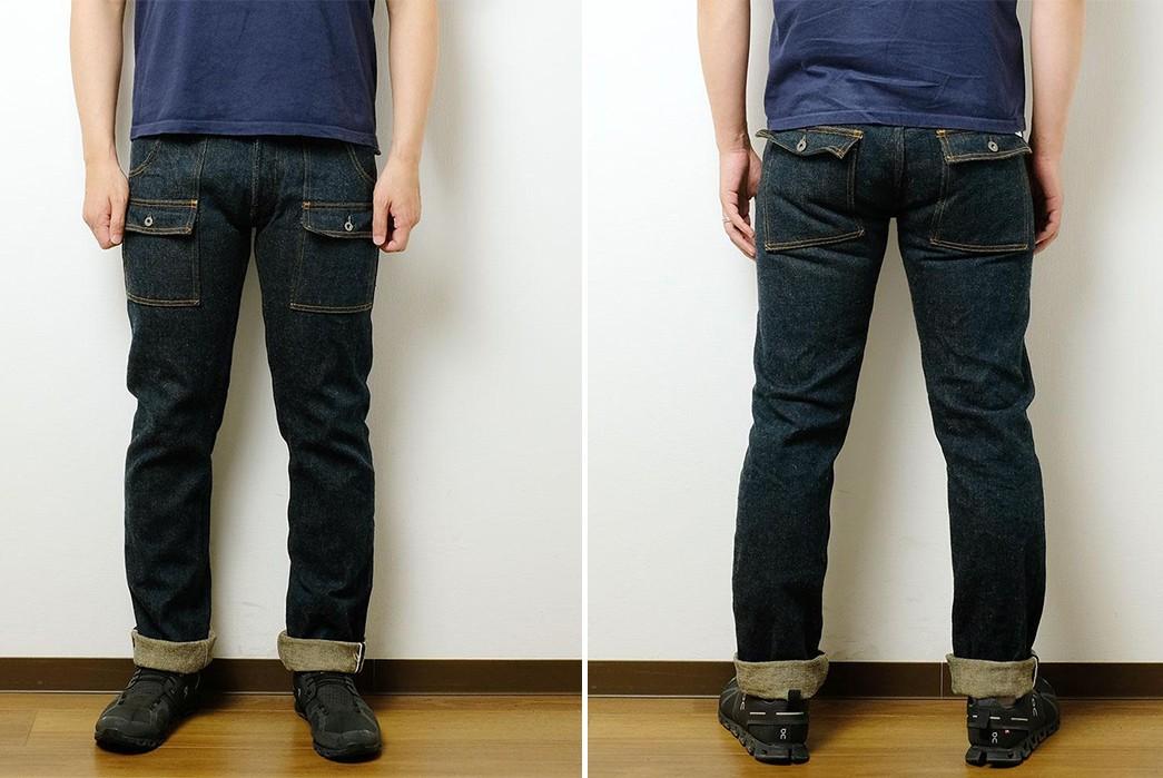Beat-Around-In-ONI's-Secret-Denim-Bush-Pants-model-front-back