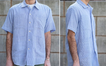Blluemade's-Noguchi-Shirt-Is-NYC-Made-Summer-Perfection-model-front-side