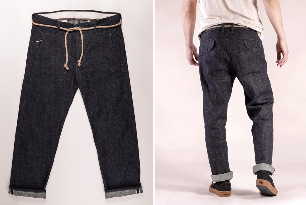 Companion-Denim-Renders-Its-Deck-Chino-In-a-Bamboo-Cotton-Blend-front-and-back-model