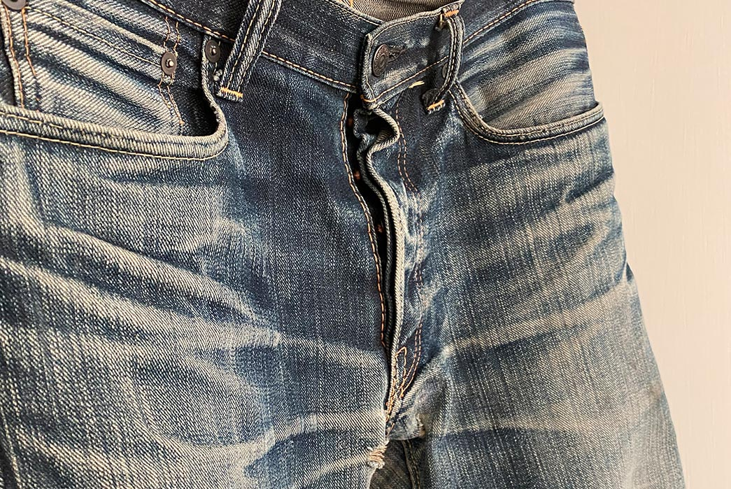 Fade-Friday---Pure-Blue-Japan-X011-(9-Years,-3-Washes,-2-Soaks)-front-top