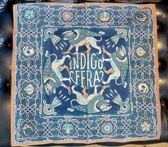 Indigofera-Applies-Its-Iconic-Gryphon-To-A-Duo-Of-Poplin-Bandanas-blue