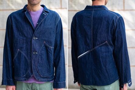 Kapital's-Ringoman-Coverall-Has-Lotsa-Weird-Pockets-model-front-back