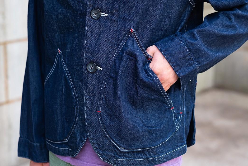 Kapital's-Ringoman-Coverall-Has-Lotsa-Weird-Pockets-model-front-down