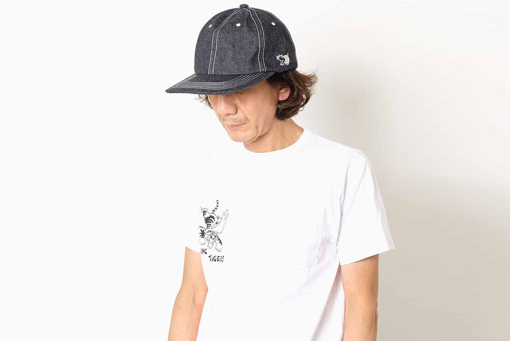 Keep-Your-Dome-Raw-with-Studio-D'Artisan's-Lot.D7524--Denim-Cap-model