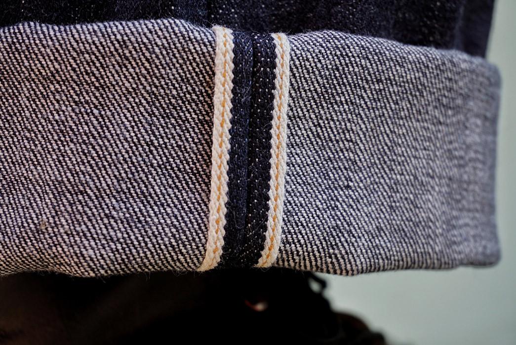 Kerbside-&-Co.'s-Lot-75E-Jeans-Is-Made-From-Deadstock-Kaihara-Mills-Denim-leg-selvedge