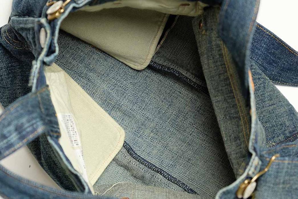 Sugar-Cane-Chops-Up-Old-Favorites-Into-2-Way-Denim-Franken-Bags-light-blue-inside