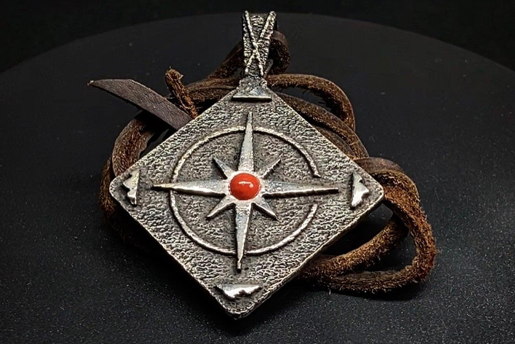 Buy-Real-Native-Jewelry-With-Ginew's-New-Range-Of-Charming-Metalwork-neklace--red-stone