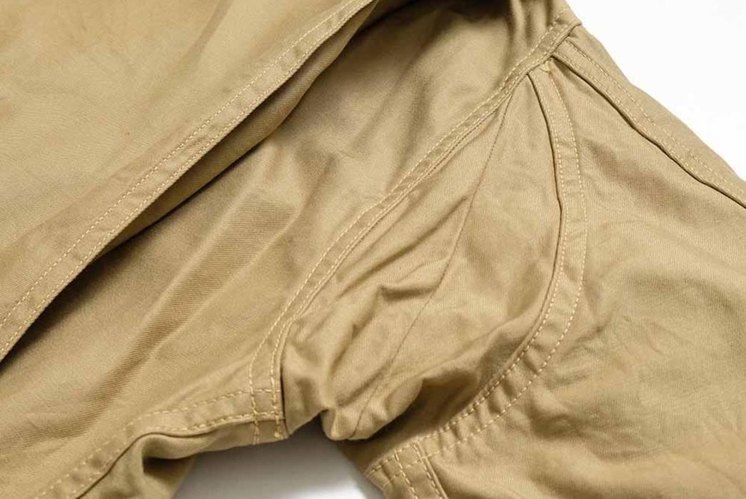 Buzz-Rickson's-Has-Issued-Its-Summer-Ready-MIL-J-7758A-Flight-Jacket-armpit-2