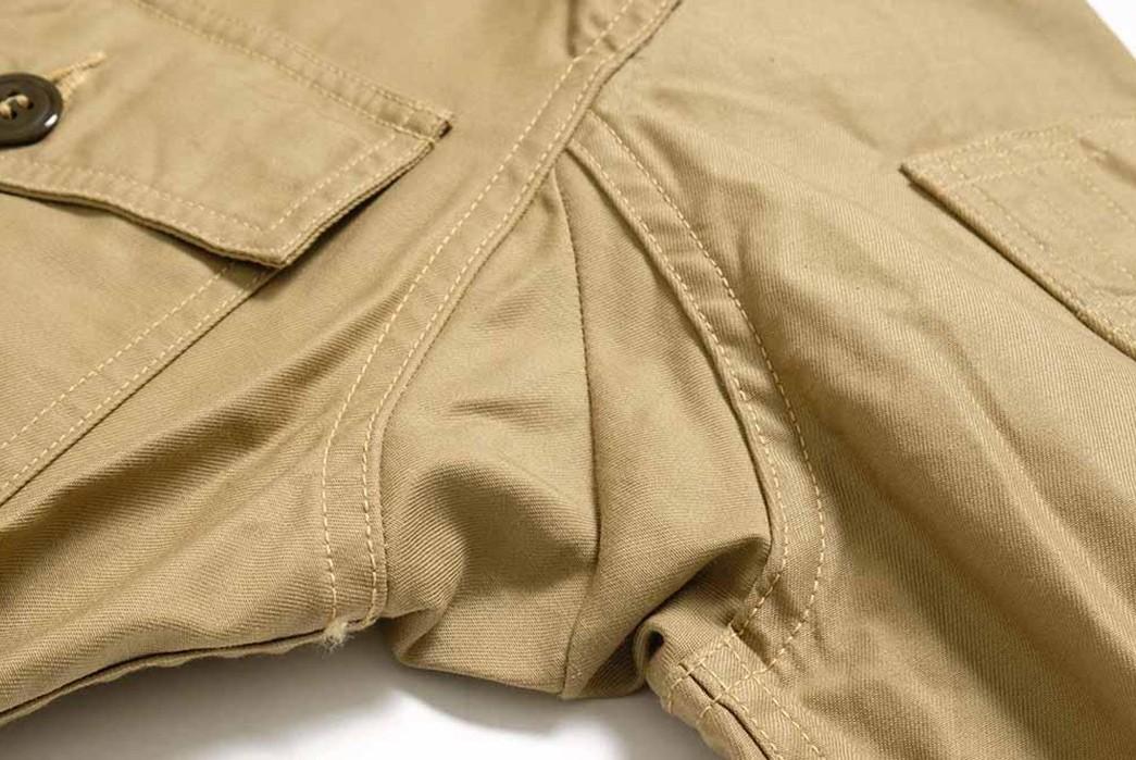 Buzz-Rickson's-Has-Issued-Its-Summer-Ready-MIL-J-7758A-Flight-Jacket-armpit