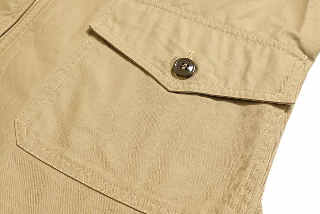 Buzz-Rickson's-Has-Issued-Its-Summer-Ready-MIL-J-7758A-Flight-Jacket-pocket