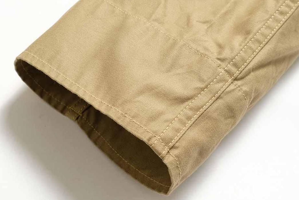 Buzz-Rickson's-Has-Issued-Its-Summer-Ready-MIL-J-7758A-Flight-Jacket-sleeve
