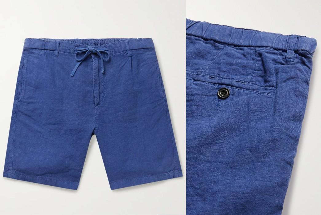 Drawstring-Easy-Shorts---Five-Plus-One-4)-Hartford-Tank-Pleated-Linen-Drawstring-Shorts